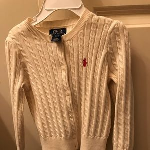 Girl's 4T Polo sweater; excellent condition.